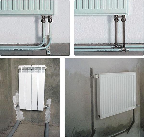 Подключения радиаторов «из